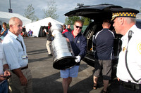 Live Nation with the Stanley Cup at the Jimmy Buffett Concert 2013