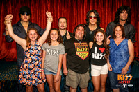 Unmasked Photos with KISS - Friday night
